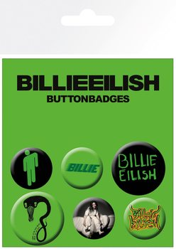 Badges Billie Eilish - Mix