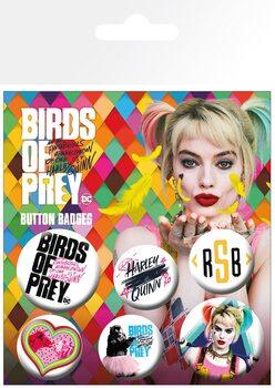 Badges Birds Of Prey: et la fantabuleuse histoire de Harley Quinn - Mix