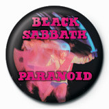 BLACK SABBATH - Paranoid Badge