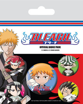 Badges Bleach - Chibi Characters