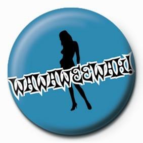 BORAT (WAWAWEEWAH) Badge