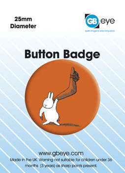 BUNNY SUICIDES - Boomerang Badge