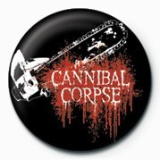 CANNIBAL CORPSE (SAW) Badge