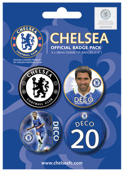 Badge CHELSEA - deco