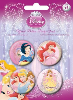 Badge DISNEY PRINSESSER 1