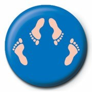 FEET (SHAGGING) Badge
