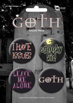 GOTH Badges