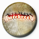 HATEBREED - logo Badges