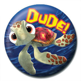 HLEDÁ SE NEMO - Dude Badge