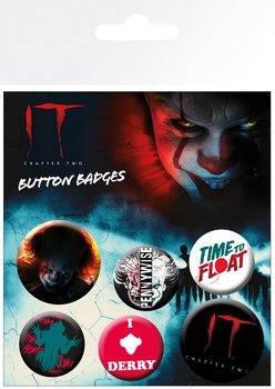 Set de badges IT: Chapter 2 - Pennywise
