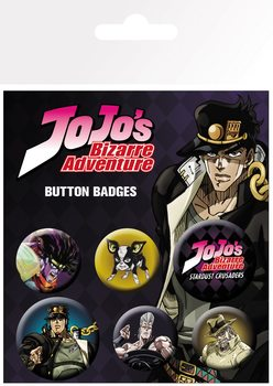 Badges  Jojo's Bizarre Adventure - Characters