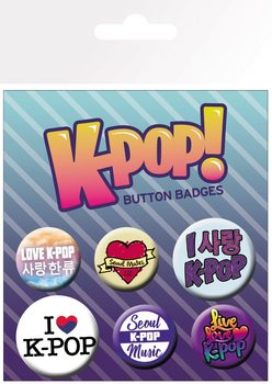 Badge  KPOP - Mix