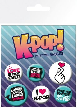 Badge  KPOP - Quotes