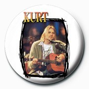 Kurt Cobain Badge