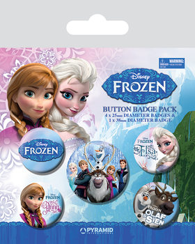 Badges La Reine des neiges