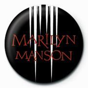 Marilyn Manson - White speaker Badges