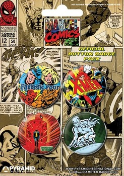 MARVEL COMICS 1 Badges