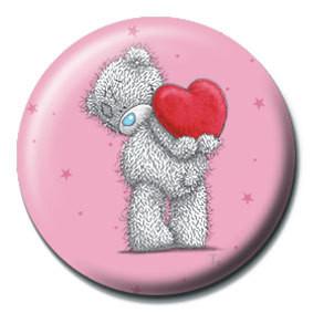 ME TO YOU - corazón Badges