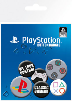 Badge  Playstation - Classic