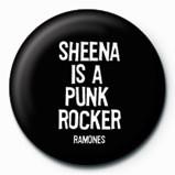 RAMONES - Sheena Badge