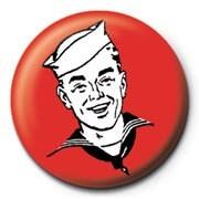 Red sailor Badge