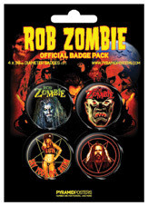 ROB ZOMBIE Badges