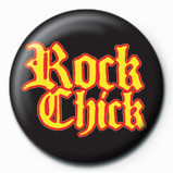 ROCK CHICK - new Badge