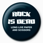 ROCK IS DEAD Badge