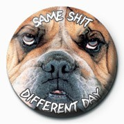 SAME SHIT, DIFFERENT DAY Badge