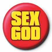 SEX GOD Badge