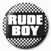 SKA - RUDE BOY Badge