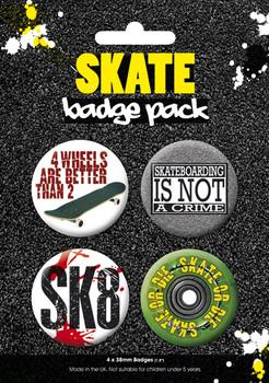 Badge SKATE 2