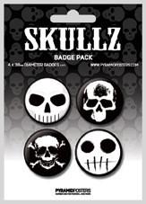 Badge SKULLZ