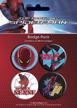 SPIDERMAN AMAZING - gener Badges