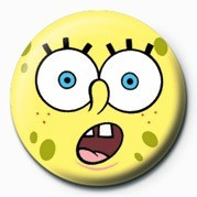 SPONGEBOB - shock Badge
