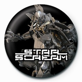 TRANSFORMERS - star scream Badge