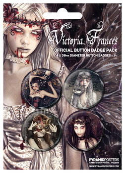 Badge VICTORIA FRANCES 2