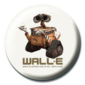 WALL E - roach Badge