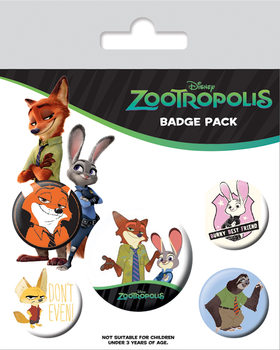 Badges Zootopie - Bunny Best Friend