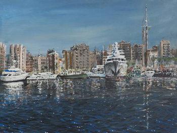 Barcelona, 1998, Festmény reprodukció