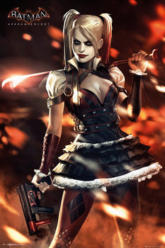 Batman Arkham Knight - Harley Quinn - плакат (poster)