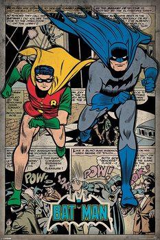 Batman - Comic Montage - плакат (poster)