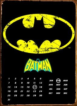 BATMAN LOGO Metalplanche
