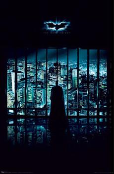 BATMAN THE DARK KNIGHT - gotham city - плакат (poster)