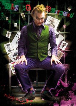 Batman The Dark Knight - Joker Jail - плакат (poster)