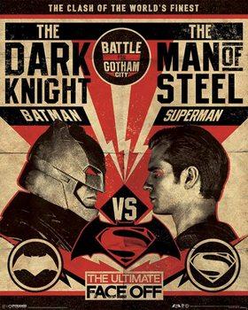 Batman V Superman - Fight Poster - плакат (poster)