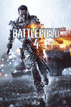 Battlefield 4 - cover  - плакат (poster)