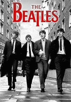 Beatles - in london - плакат (poster)