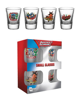 Bicchiere DC Comics - Justice League Characters