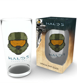 Bicchiere  Halo 5 - Mask